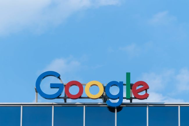 googleの看板