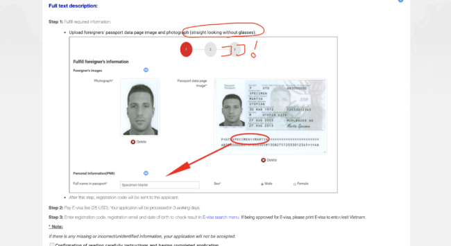 ベトナムe-visa
