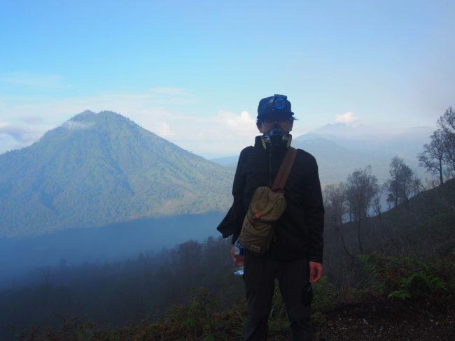 イジェン火山ガスマスク