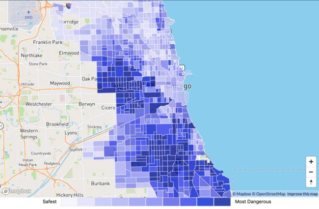 シカゴ危険地区