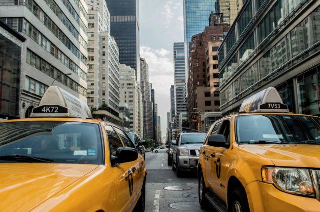 ニューヨークからフィラデルフィアのメガバス