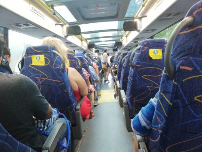 ニューヨーク・フィラデルフィア間のメガバス
